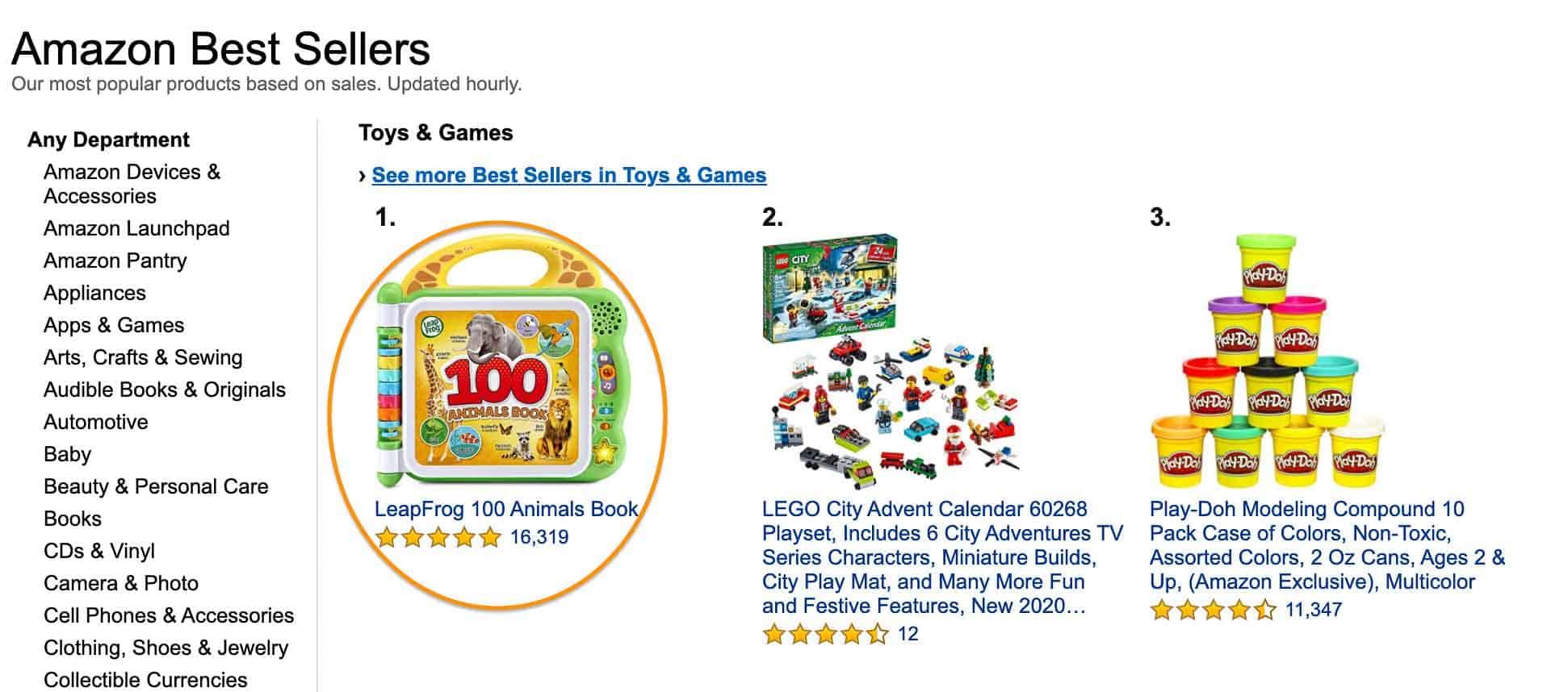 amazon toys bestsellers