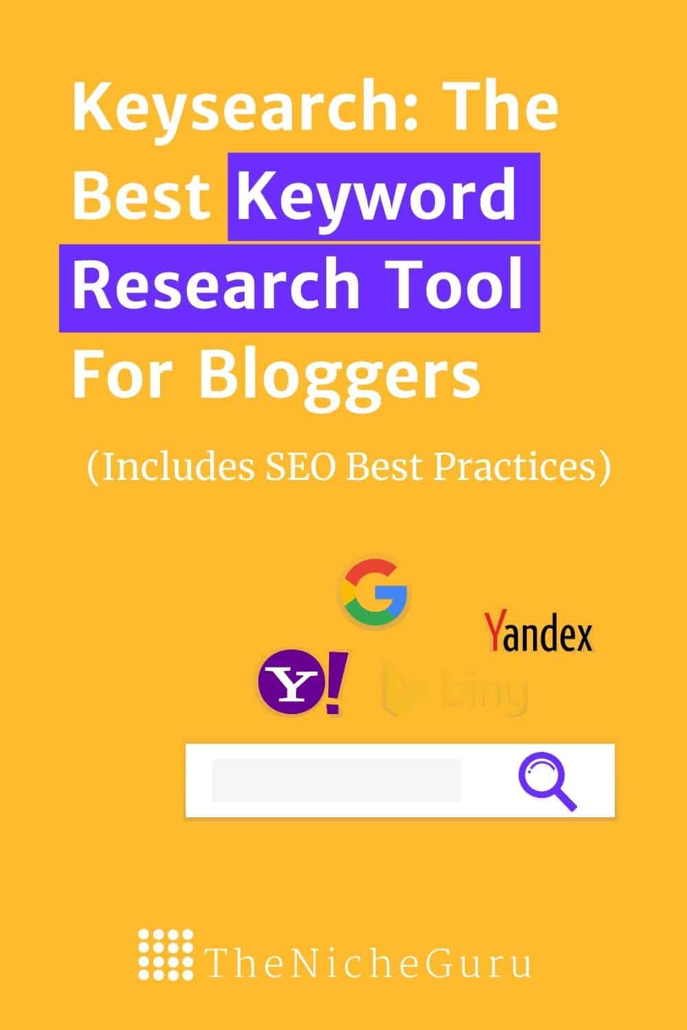 Learn how to do Keyword Research for SEO with this tips.  Use one of the most powerful and affordable keyword tools and start driving organic traffic to your site.  #SEOTips #SEO #Keywords #KeywordResearch #Keysearch #KeywordTools