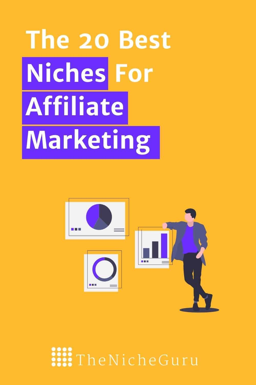 Discover the niches for affiliate marketing for beginners. This post will help you understand how to find profitable niches and strategies to succeed with affiliate marketing-You will learn how to make money from affiliate marketing with your blog. #niche #nichemarketing #nichetips #affiliatemarketing #makemoneyonline