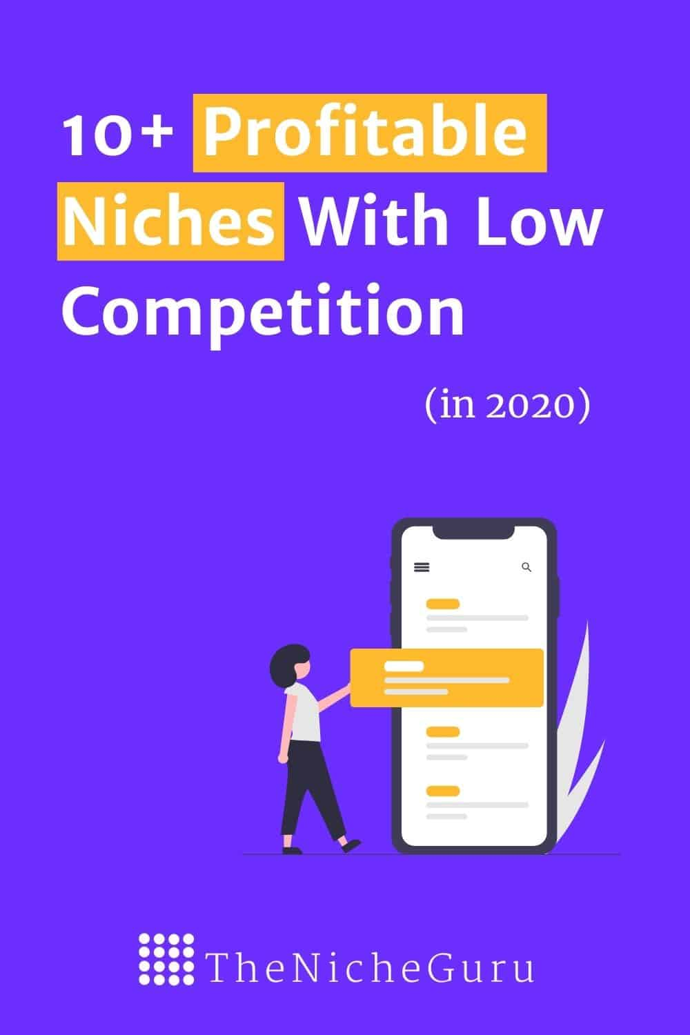 The most profitable niche ideas in 2020 and how to make money with them. #blogniches #profitableblogniches #blognicheslist #profitableniches #niches