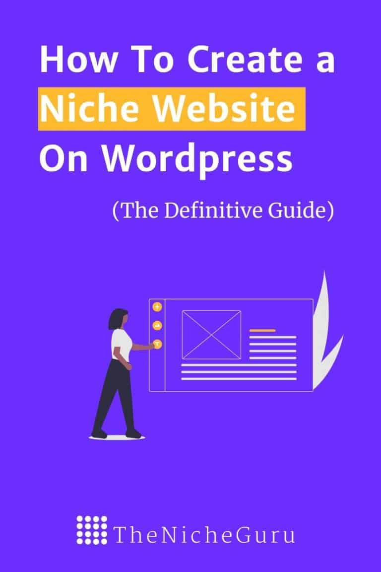 Want to learn how to build a WordPress Website from scratch? Check this full guide with a step by step tutorial on how to create a niche website even if you are beginner. Download the full guide in PDF for Free. #NicheWebsite #BuildAWebsite #Wordpress #Hosting