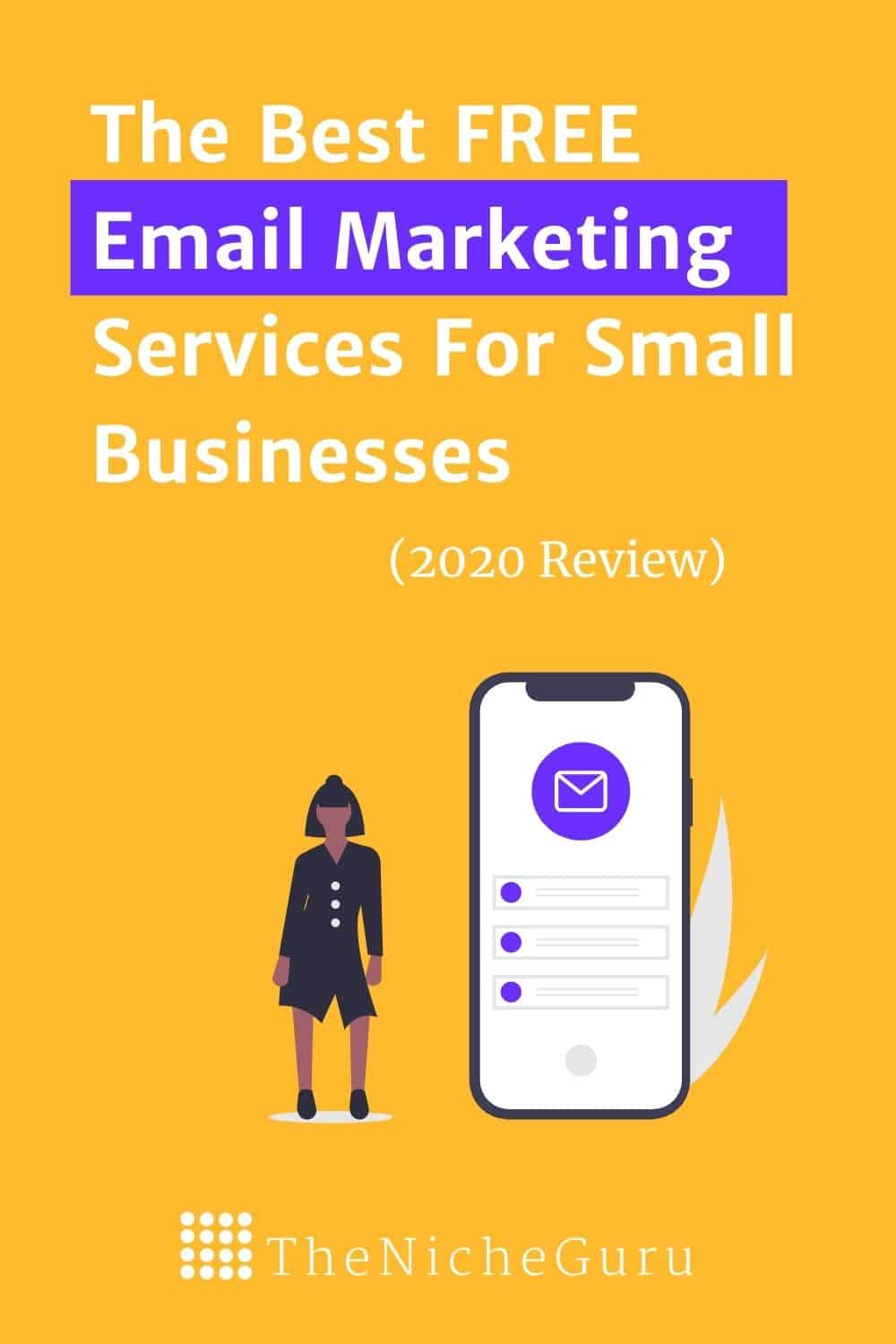 Use these free email marketing software tools, perfect to grow your business. Learn which service adjusts best to your business with a detailed list of the key features. Try these email marketing services for FREE now. #Email #EmailMarketing #Blogging #EmailTools