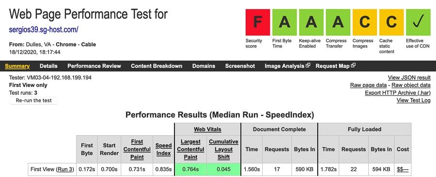 SG WP test 2