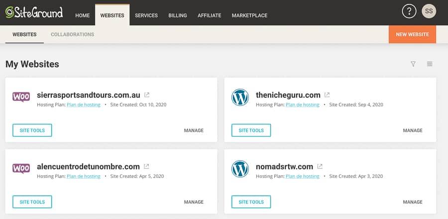 SG websites