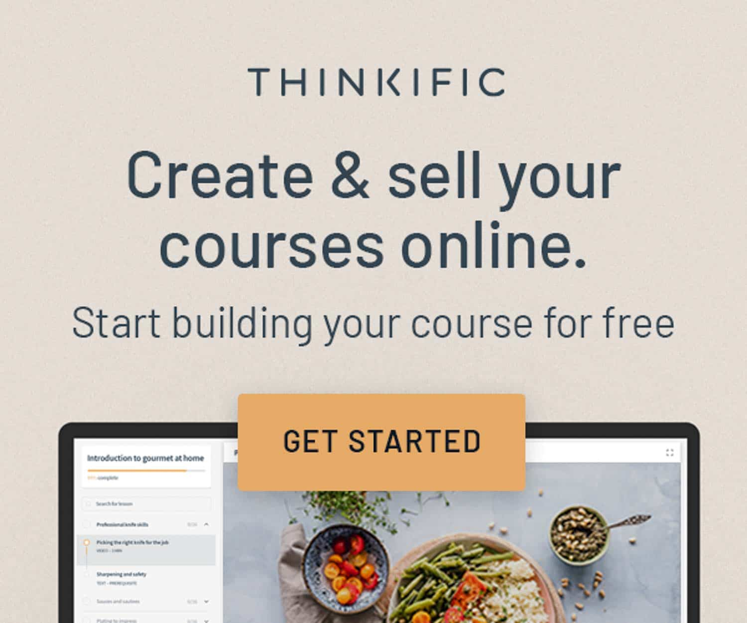 create and sell your courses online banner