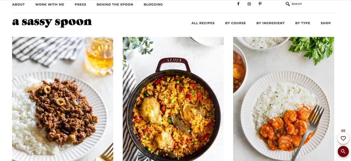a sassy spoon blog