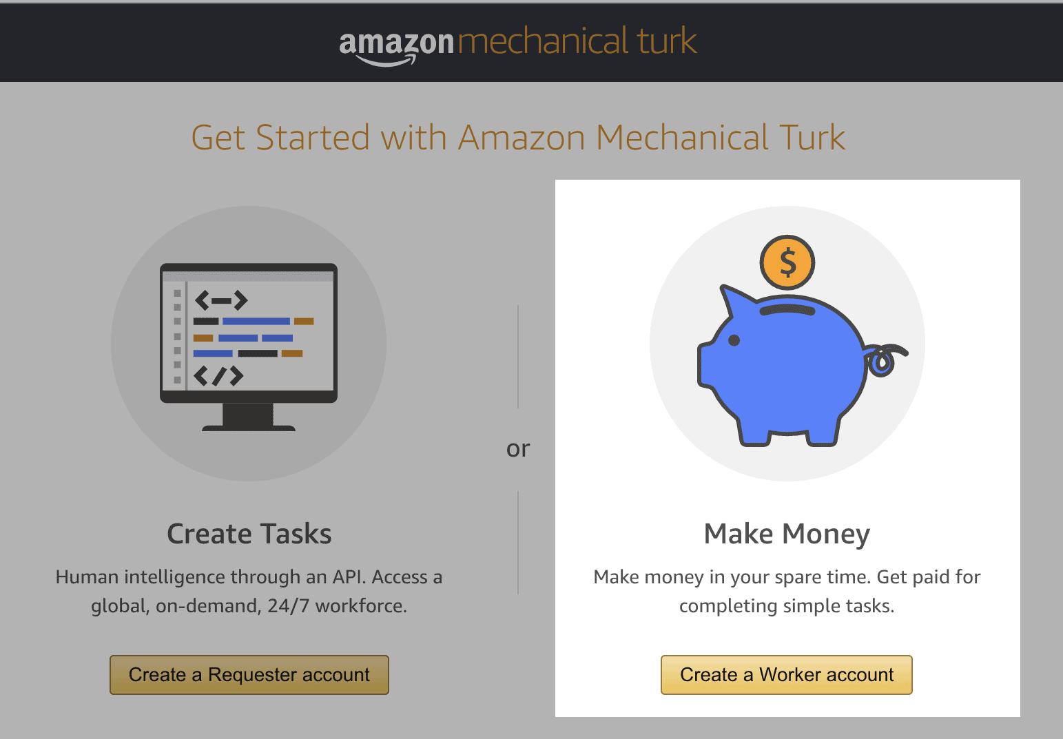 create worker account