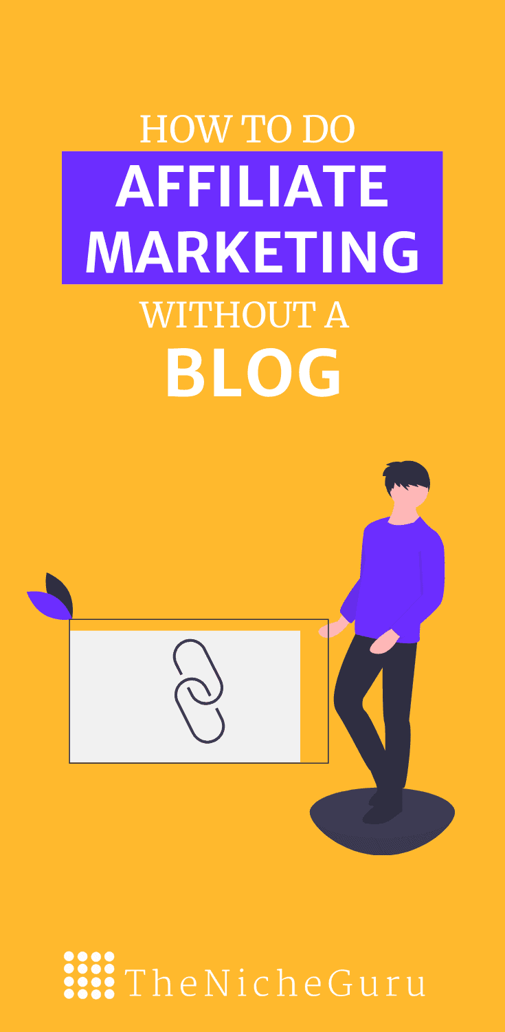 Discover how to do affiliate marketing without a blog for beginners.  #AffiliateMarketing #Entrepreneurship