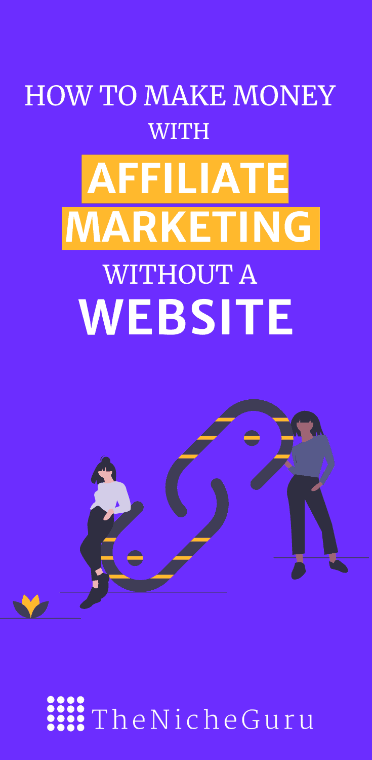 Learn how to make money from affiliate marketing without website with 7 different methods. #AffiliateMarketing #MakingMoneyOnline