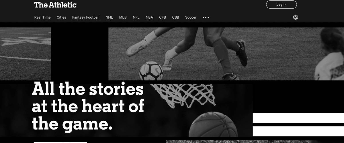 the athletic blog