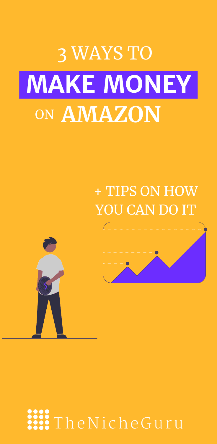Discover three ways to make money on Amazon without selling anything and without a website. #AmazonTips #Amazon #OnlineBusiness #Entrepreneur