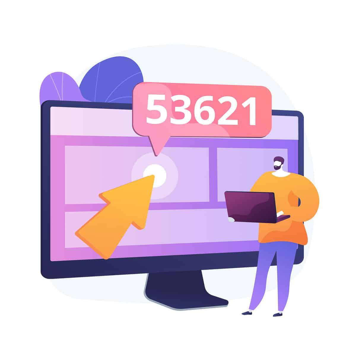 Search engine optimization vector concept metaphor