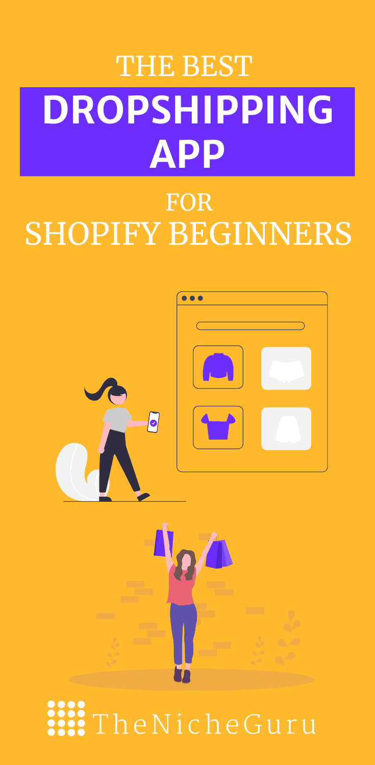 The best dropshipping app for beginnners using Shopify. Review including best products, suppliers and more. #Dropshipping #dropshippingApp #Ecommerce