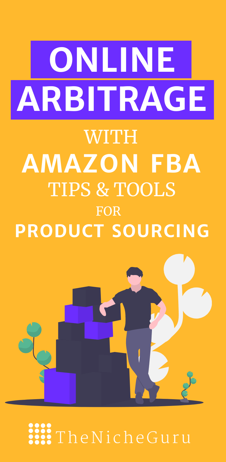 Learn online arbitrage with Amazon FBA and discover how you can make money with this business model. Includes tips for product sourcing and the best tools you can use to save time and increase your profit margin. #OnlineArbitrage #ProductSourcing #Amazon