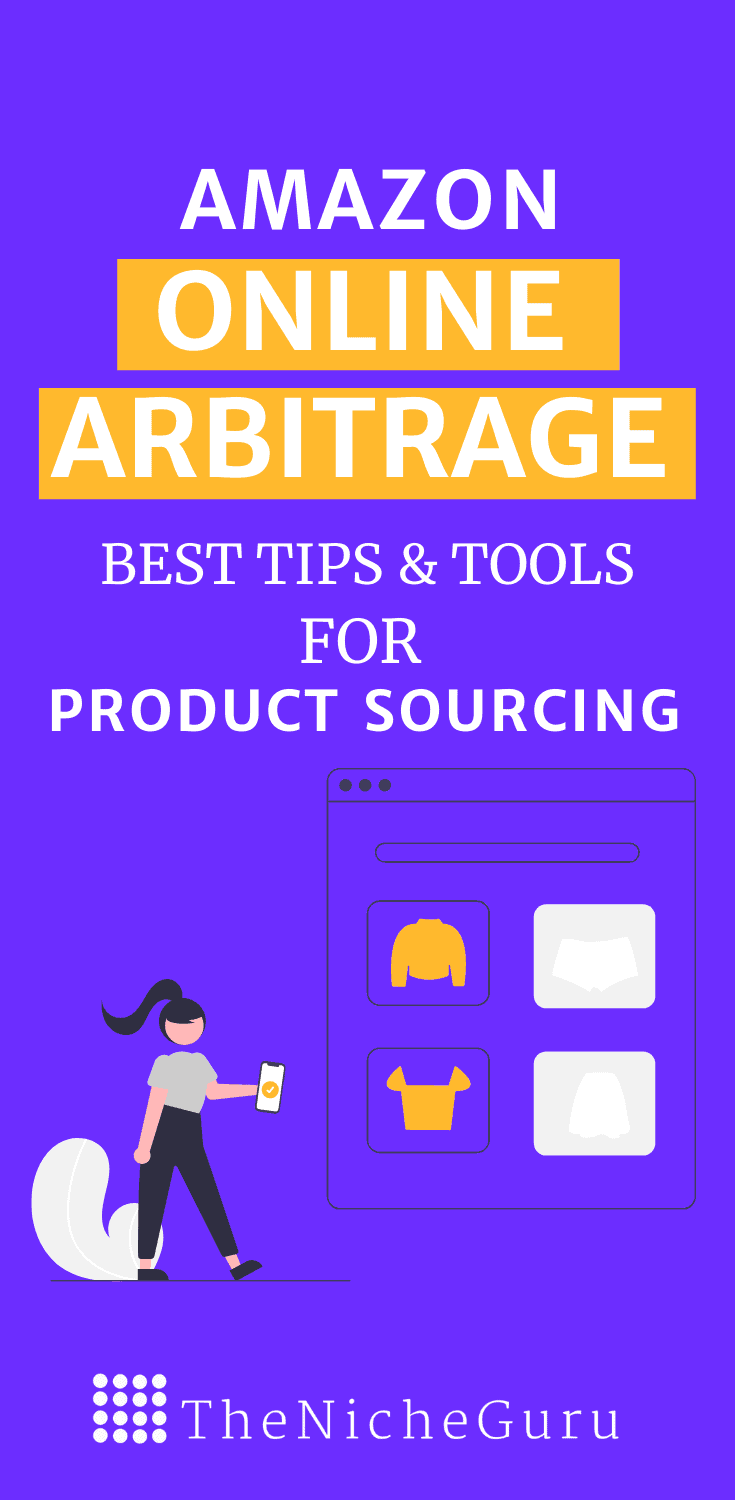 Discover the best tips and tools for product sourcing in this guide to Amazon FBA online arbitrage.  #AmazonFBA #OnlineArbirtrage