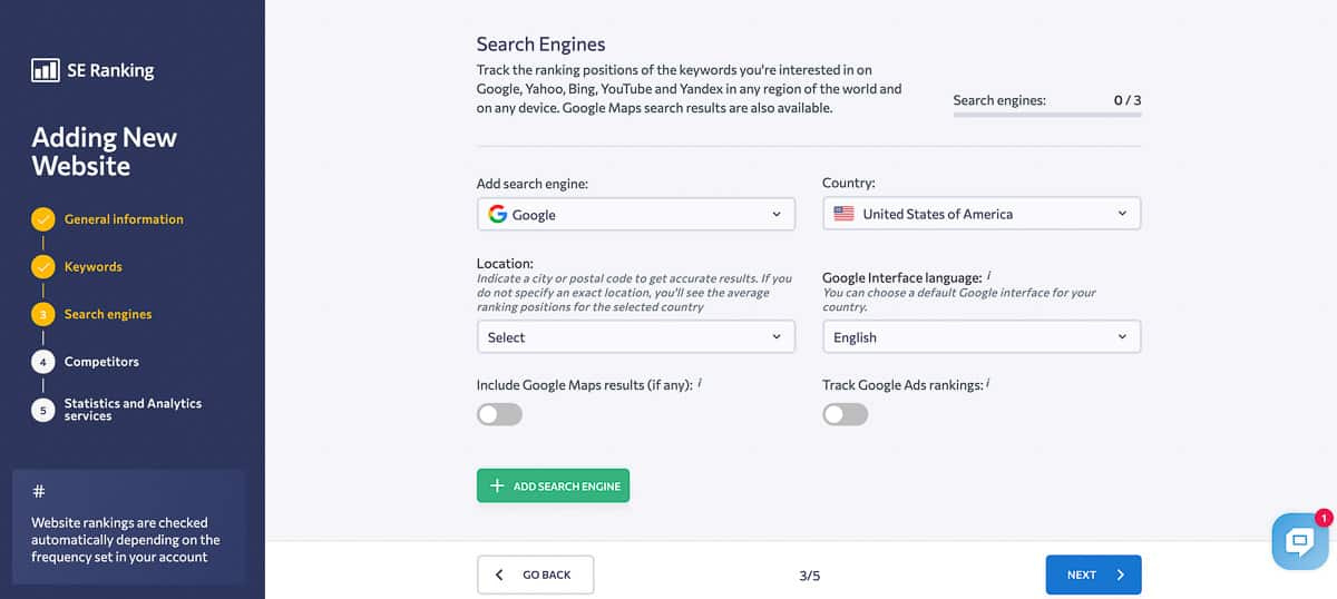 se ranking search engines