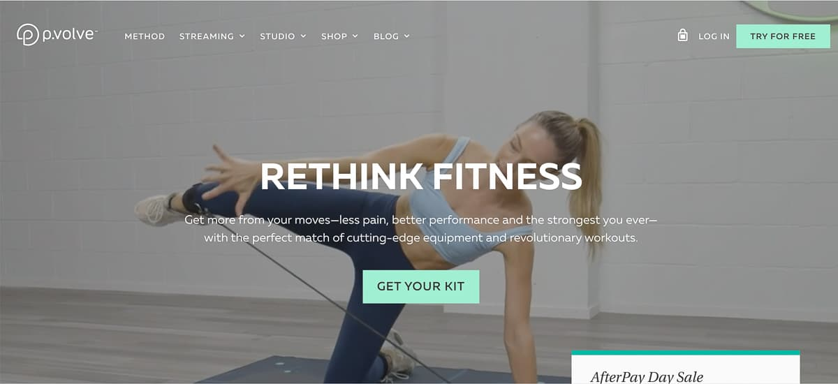 home gym website