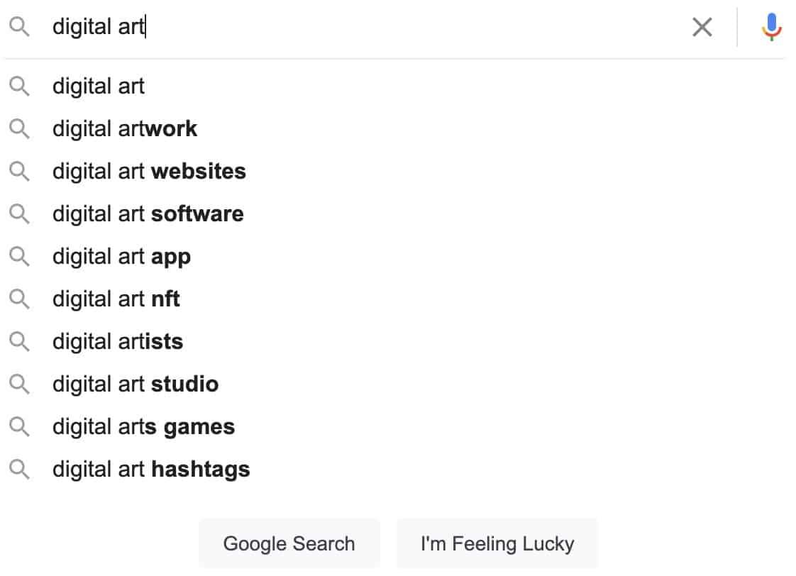 digital art suggestions