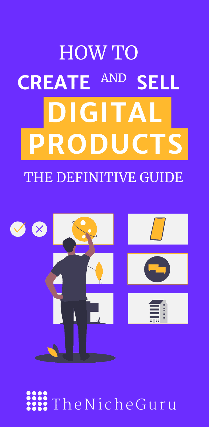 Learn how to create and sell your own digital products with this practical guide.  Includes examples, types of digital products you can create, best platforms to sell your products even if you don't have a website and more! #DigitalProductCreation #SellingProducts #ProductsWebsite