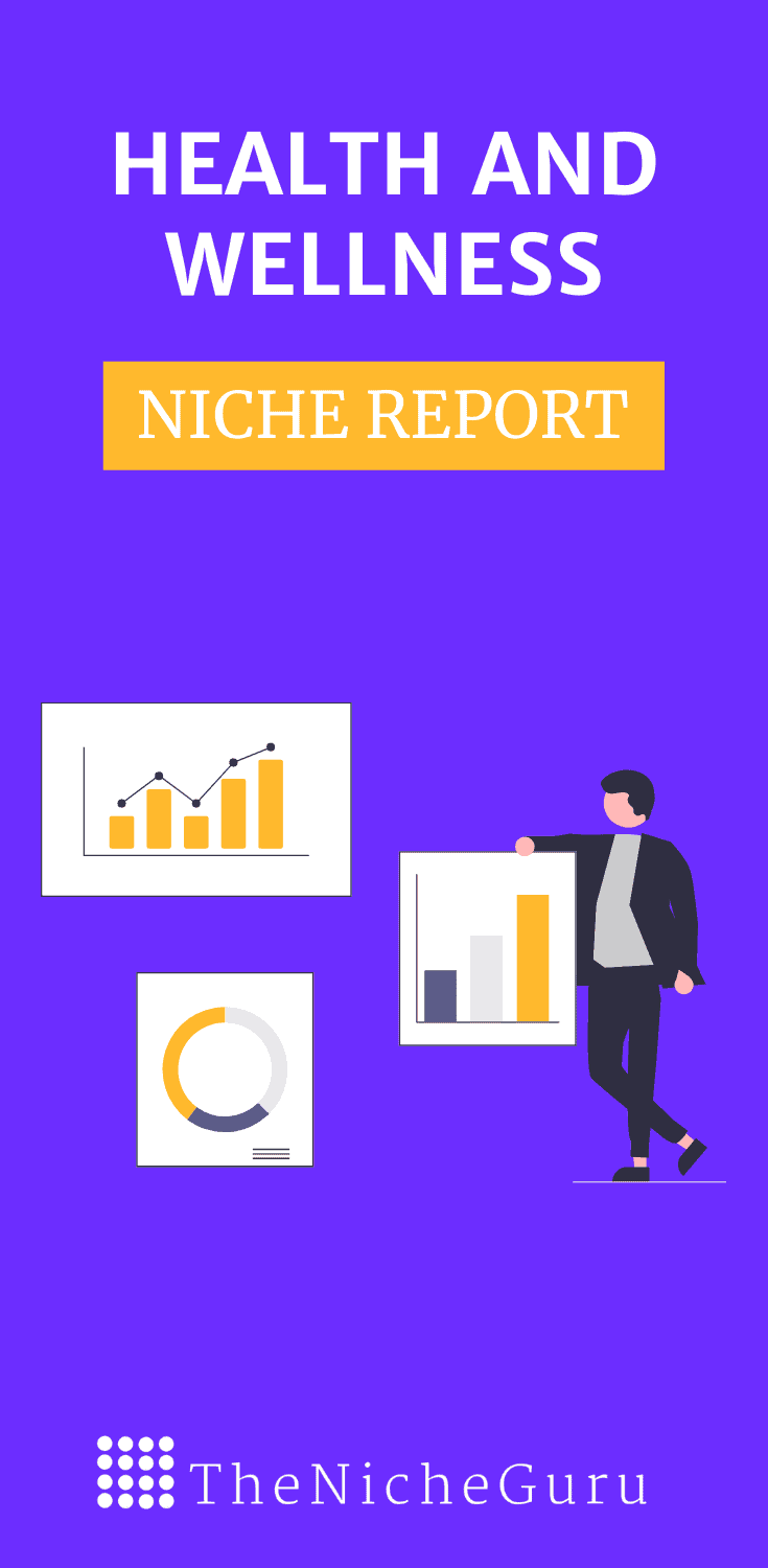 Find out the best sub-niches in the health and wellness niche to create a profitable online business. Includes niche market trends, how to monetise a site, niche ideas and more. #HealthAndWellness #NicheIdeas #NicheResearch