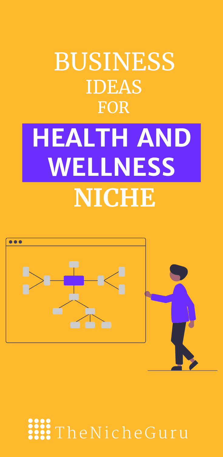 The best business ideas in the health and wellness niches to make money online with less competition. Learn how to choose the best niche, niche trends, how to make money with this niche and more. #healthandwellness #NicheIdeas #NicheReport