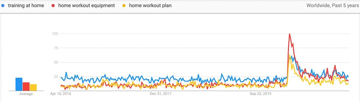 home gym niche trends