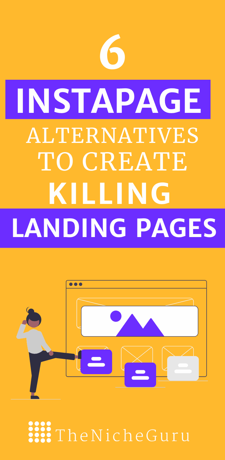 Top 6 alternatives. to Instapage for to create amazing landing pages that convert your readers into subscribers and customers. Convert your website into an automatic machine of making money with these Instapage alternatives and increase your email marketing benefits from today. #Instapage #EmailMarketing #LandingPages