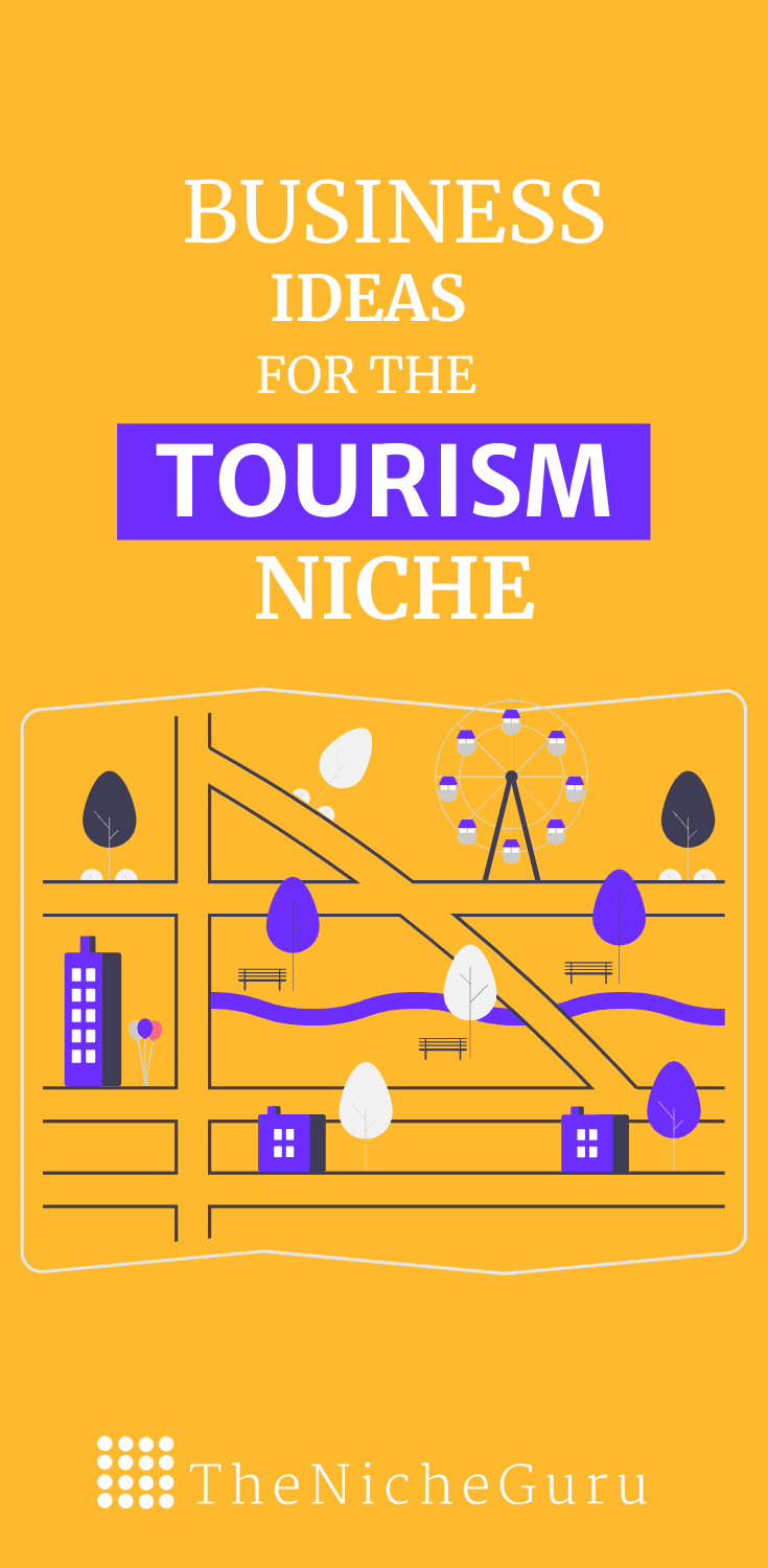 The best business ideas in the tourism niche to make money online with less competition. Learn how to choose the best niche, niche trends, how to monetize your site with this niche and more. #tourismideas #NicheIdeas #NicheReport