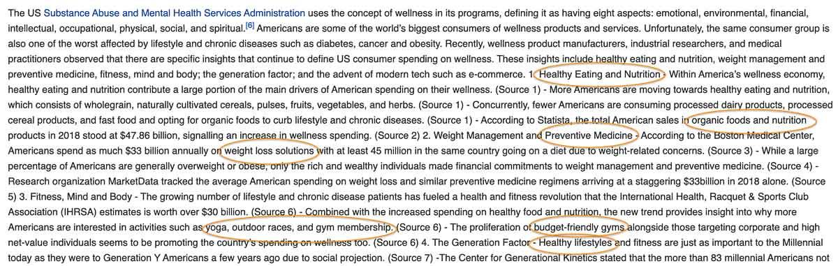 wikipedia keyword ideas