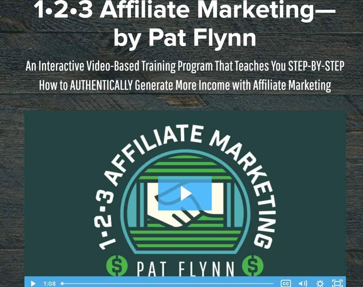 123 Affiliate Marketing (Pat Flynn)