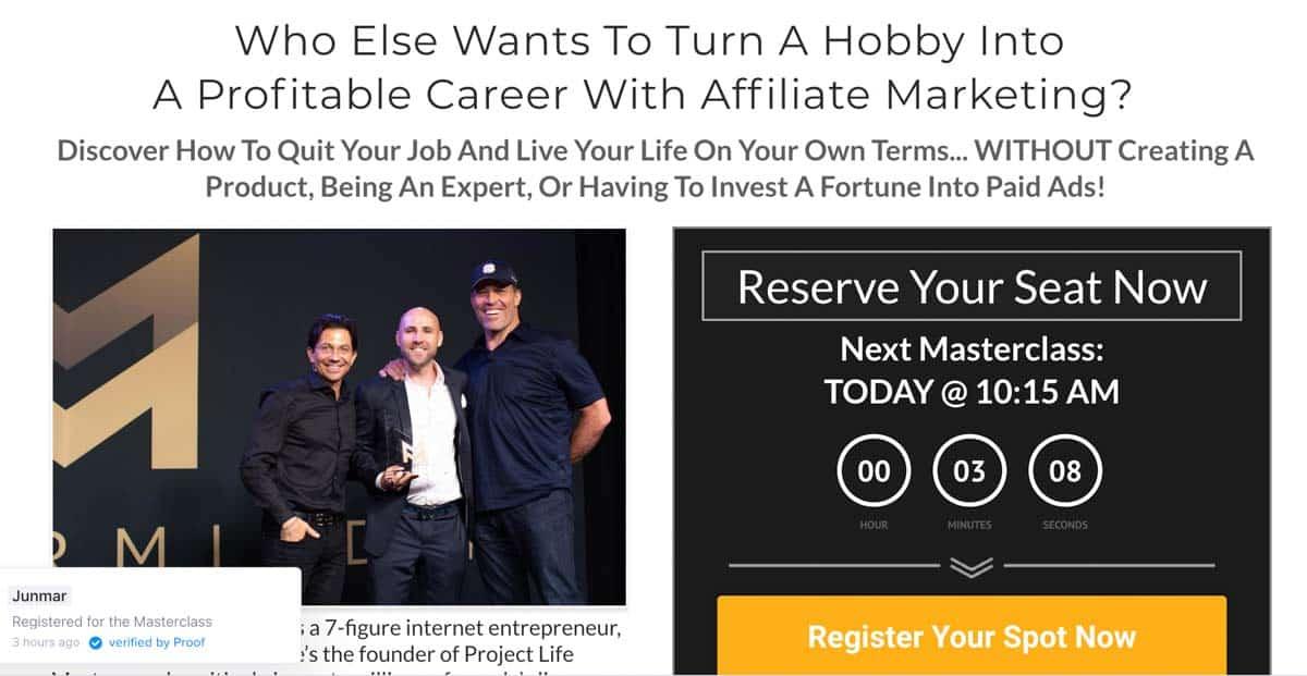 Affiliate Marketing Mastery (Stefan James)