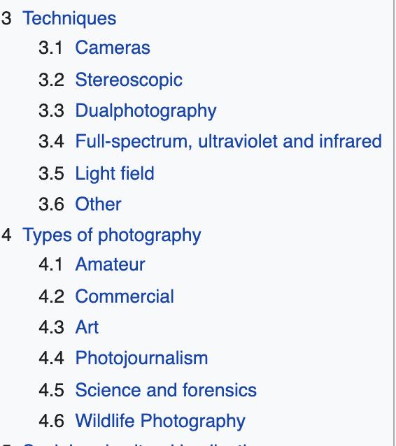 photography keyword ideas