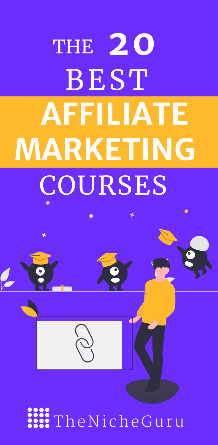 Want to monetize your website with affiliate marketing efficiently? Check the best affiliate marketing courses that will help you boost your business sales with the best tips for making money online. You don't even need a website with some of these trainings! Check them now and start making money blogging. #AffiliateMarketing #AffiliateMarketingCourses #MakeMoneyOnline