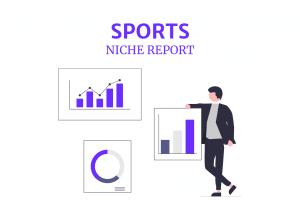 sports niche report feature image
