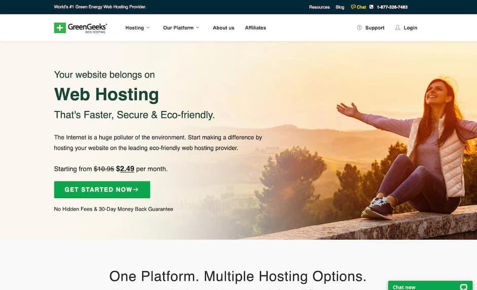GreenGreeks Web Hosting