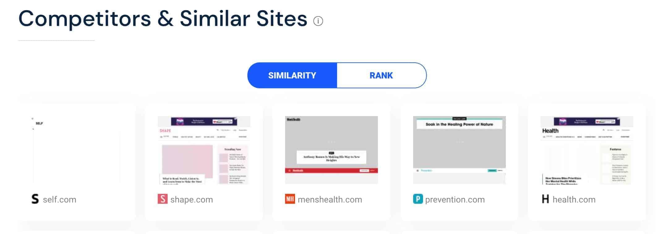 similarweb similar sites