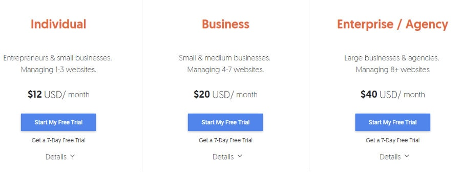 ubbersuggest pricing