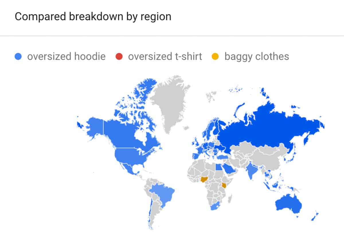 fashion trends by location