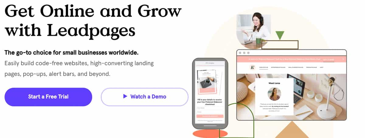 Leadpages solution as alternative to clickfunnels